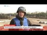 Evacuation buses enter east Aleppo under new evacuation deal