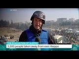 The Evacuation Of Aleppo: Evacuation of civilians has resumed again