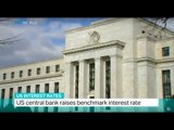 US Interest Rates: US central bank raises benchmark interest rate