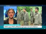 Interview with Belkis Wille, Senior Iraqi Researcher from HRW, on child soldiers in Iraq