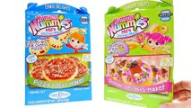 DONUTS AND PIZZA --- Yummy Nummies Kitchen Cooking --- Pizza Party + Donut Maker