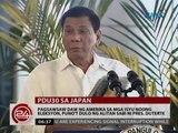 Pagsawsaw raw ng Amerika sa mga isyu noong eleksyon, puno't dulo ng alitan sabi ni Pres. Duterte