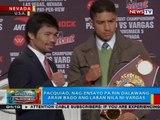 Pacquiao, nag-ensayo pa rin dalawang araw bago ang laban nila ni Vargas