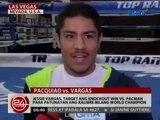 24 Oras: Jessie Vargas, target ang knockout win vs. Pacman