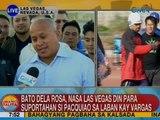 UB: PNP Chief Bato Dela Rosa, nasa Las Vegas din para suportahan si Pacquiao sa laban kay Vargas