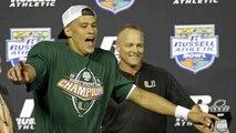 Porter: Kaaya Stars in Bowl, Off to NFL?