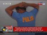 Mga pulis na naka-duty sa kulungan noong napatay si Mayor Espinosa, dinis-armahan daw