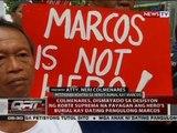 Colmenares, dismayado sa desisyon ng SC na payagan ang hero's burial kay dating pangulong Marcos