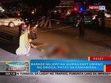 BP: Barker ng jeep na gumagamit umano ng droga, patay sa pamamaril