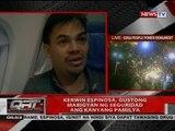 QRT: Kerwin Espinosa, gustong mabigyan ng seguridad ang kanyang pamilya