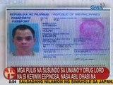 UB: Mga pulis na susundo sa umano'y drug lord na si Kerwin Espinosa, nasa Abu Dhabi na