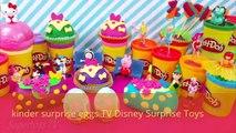 Kinder Surprise Eggs Peppa pig Disney frozen Surprise Eggs Surprise Toys Disney Frozen 2