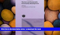 PDF [FREE] DOWNLOAD  Tourism and Sustainable Community Development (Routledge Advances in Tourism)