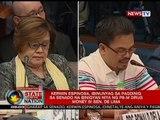 Kerwin Espinosa, idinetalye sa senado ang aniya'y pagbibigay niya ng pera kay Sen. Leila de Lima