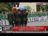 Pamilya Marcos, pinagkokomento ng SC ukol sa mga apelang inihain laban sa Marcos burial
