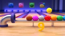 Binkie TV - Bowling Fun For Kids - Learn Numbers With Bowling Balls - 3D Educational Video