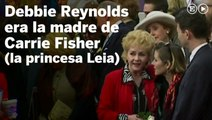 Muere Debbie Reynolds, madre de Carrie Fisher
