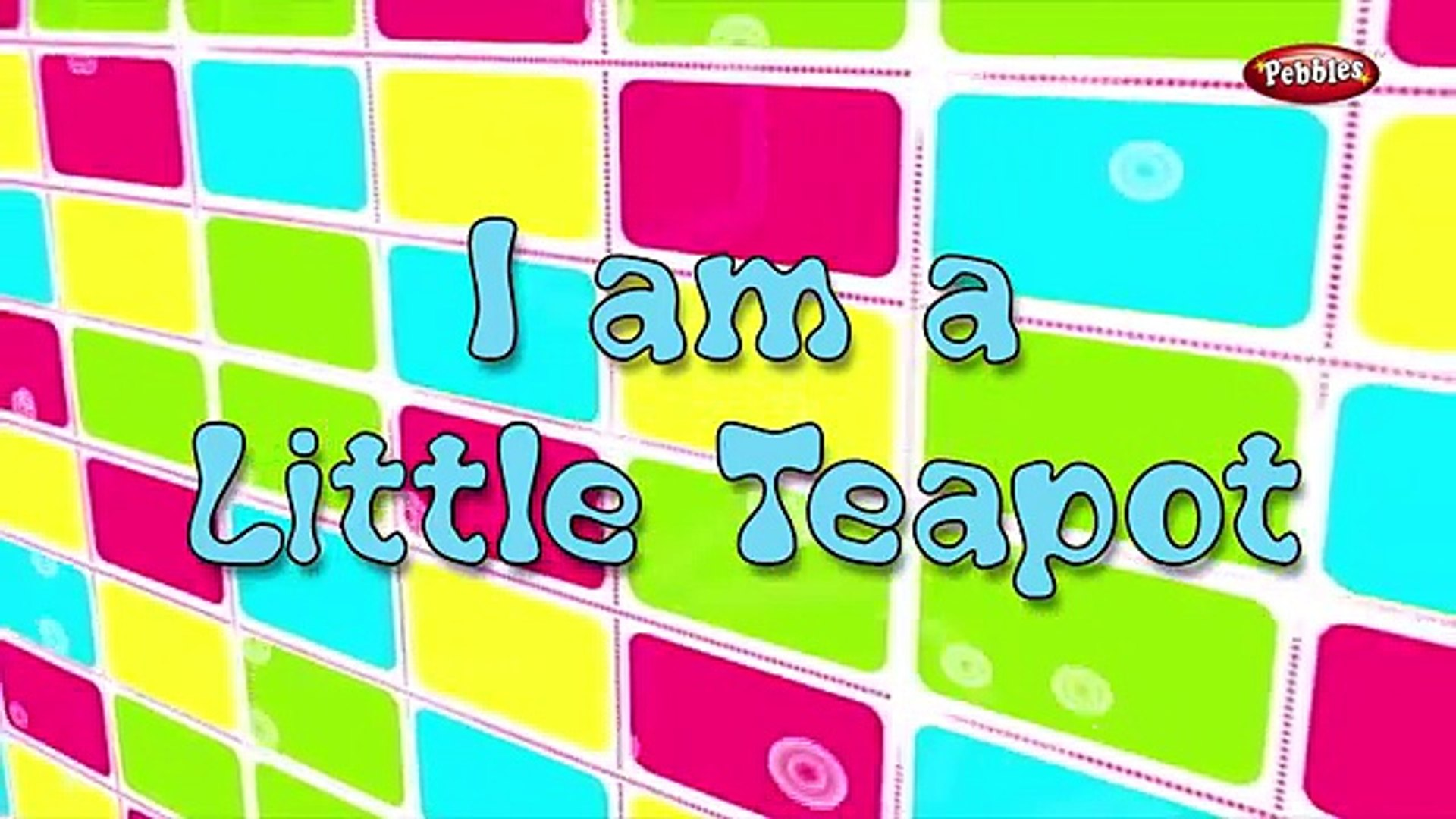 I am a Little Teapot With Actions | Nursery Rhymes For Kids With Lyrics | Action Songs For Children