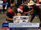Mga nagprotesta, ipinakita sa iba't ibang paraan ang pagtutol sa Marcos burial sa LNMB