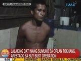 UB: Lalaking dati nang sumuko sa Oplan Tokhang, arestado sa buy bust operation sa CamSur