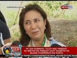 VP Leni Robredo, tuloy ang trabaho sa sektor ng pabahay kahit nagbitiw na bilang chaiperson ng HUDCC
