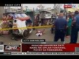 QRT: Pedicab driver na dati nang na-Oplan Tokhang, patay sa pamamaril