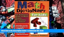 READ book  Math Dictionary for Kids: The Essential Guide to Math Terms, Strategies, and Tables