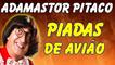 Adamastor Pitaco - Viagem De Avião - Piadas Curtas E Engraçadas - Piadas Adamastor Pitaco