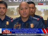 NTVL: Zero casualty kaugnay sa iligal na pagpapaputok ng baril sa Bagong Taon, layon ng PNP