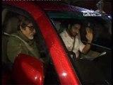 Amitabh Bachchan, Abhishek Bachchan, Suniel Shetty and Kunal Kohli at 'Bol Bachchan' screening