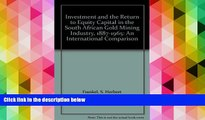 PDF  Investment and the Return to Equity Capital in the South African Gold Mining Industry,