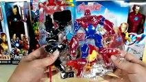 Iron man collection toys, ironman vs iron patriot, super hero mashers, titan hero series, hot toys