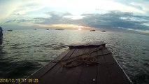 2016-12-19  Sunset sur le lac Tonle Sap 3