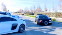 Regardez la nouvelle voiture de Ronaldo... Incroyable Bugatti Veyron à 1,3m d€