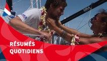 J53 : Paul Meilhat est arrivé à Papeete / Vendée Globe