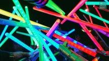 Des milliers de sabres lasers rendent hommage à Carrie Fisher
