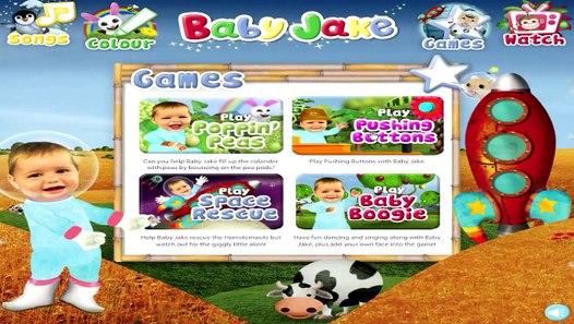 Baby Jake - Pushing Buttons - Cbeebies Game - HD - video ...