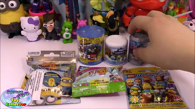 BLIND BAG SATURDAY EP #17 Lego Simpsons Minions Shopkins - Surprise Egg and Toy Collector SETC