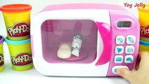 Play Doh Magic Microwave Oven Disney Cars Modeling Clay Star Wars Learn Animal with Cookie cutters