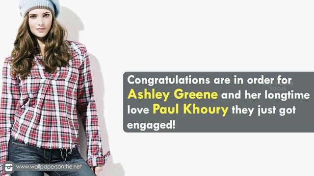 Ashley Greene is Engaged to Paul Khoury