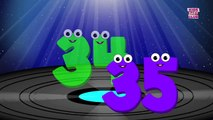 Nursery Rhymes By Kids Baby Club - Big Number Song   Learn Numbers From 1 to 100