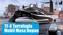 TF-X Terrafugia Mobil Terbang Masa Depan