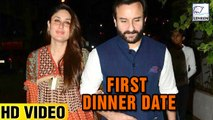 Kareena Kapoor And Saif Ali Khan First Dinner Date Post Delivery