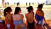 Malaika Arora PARTIES In Bikini At Goa Beach!