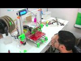 Palestinian computer engineer builds Gaza's first locally designed and symbolled 3D printer