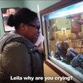 Sous anesthésie elle pense que les poissons se noient dans l'aquarium