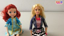 BARBIE DOLLS: Girl Head to toe Gram, FORTUNE DAYS: Ariel Doll | Collection Toys Video For Kids