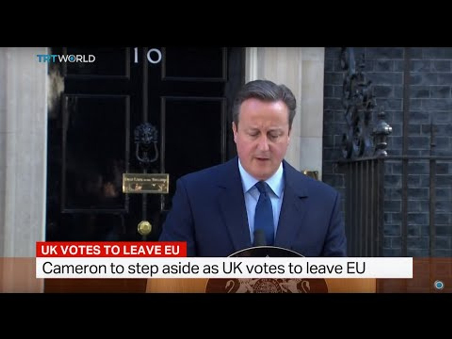 Cameron to step aside as UK votes to leave EU, Simon McGregor-Wood reports