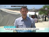 Turkish government opens border for Syrian refugees for Eid al-Fitr, Iolo ap Dafydd reports