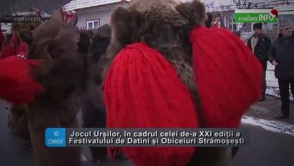 Jocul ursilor - Festivalul de Obiceiuri si Datini